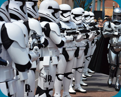 Disneyland Paris 2017 - Star Wars: First Order March