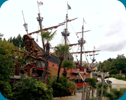 Captain Hook`s Pirate Ship