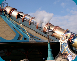 Discoveryland met Space Mountain: Mission 2