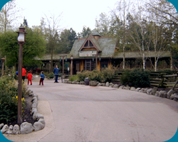 Disneyland Railroad: Frontierland Station.