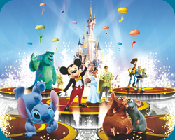 It's Party Time with Mickey and Friends / Disney showtime spectacular