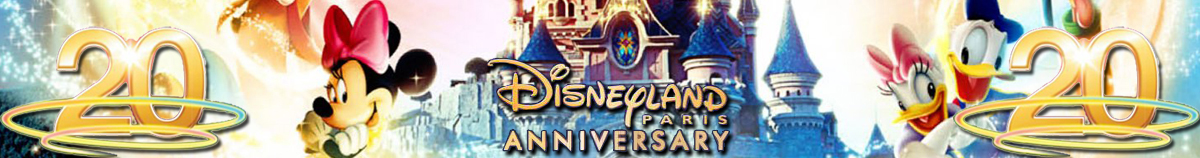 DLRP-Magic.com: Disneyland Parijs 20e verjaardag in 2012/2013 - Experience Disney Magic!